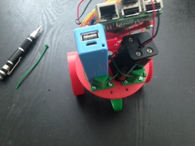 Adding Motors and Electronic to the 3D Printed Parts