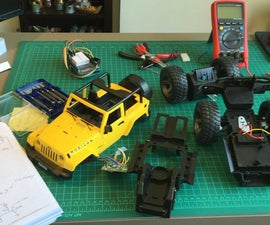 Hacking a RC car with Arduino and Android