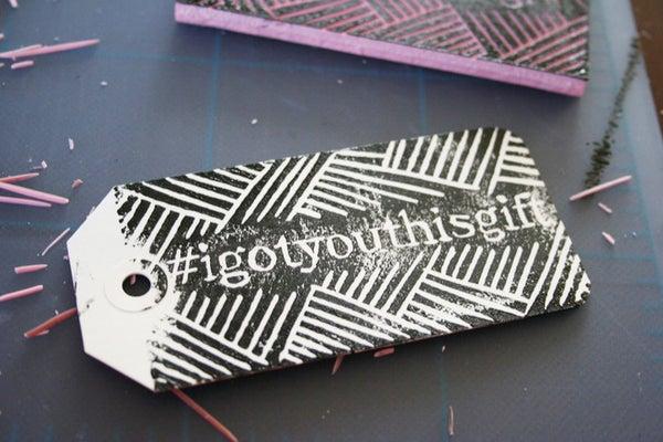 Holiday DIY: Hashtag Gift Tags