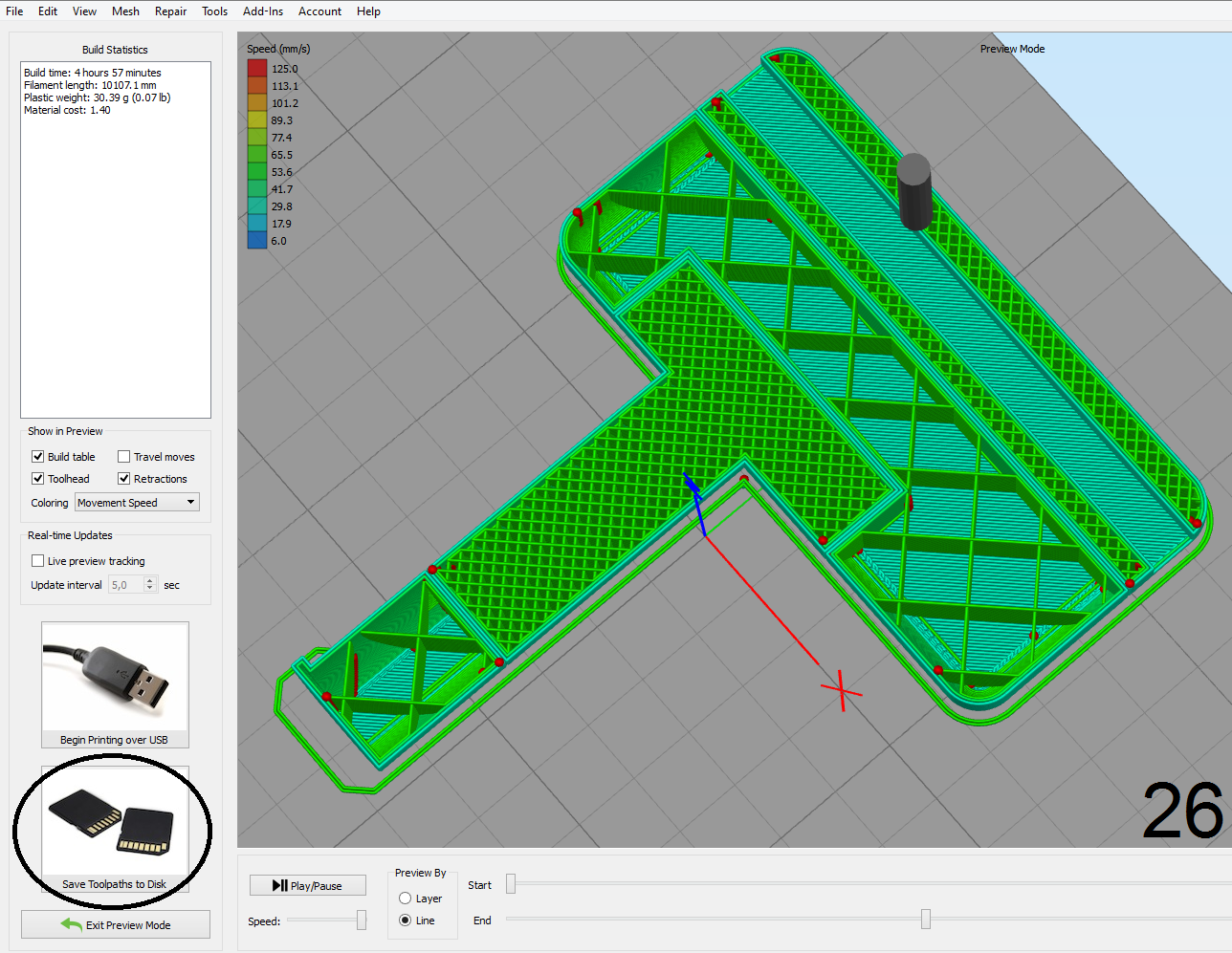 Picture of Slicing - Simplify3D