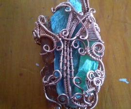 Heady Wrapped 3 Color Kyanite Pendant