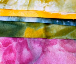 Snow Dyed Fabric