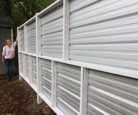 Building a Modern Privacy Fence
