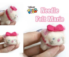 Tutorail: Marie Tsum Tsum Collab - Needle Felt