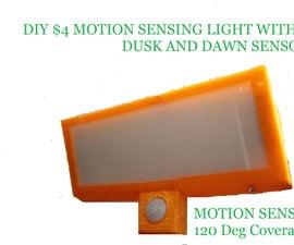 $4 Motion Sensor Bright Light