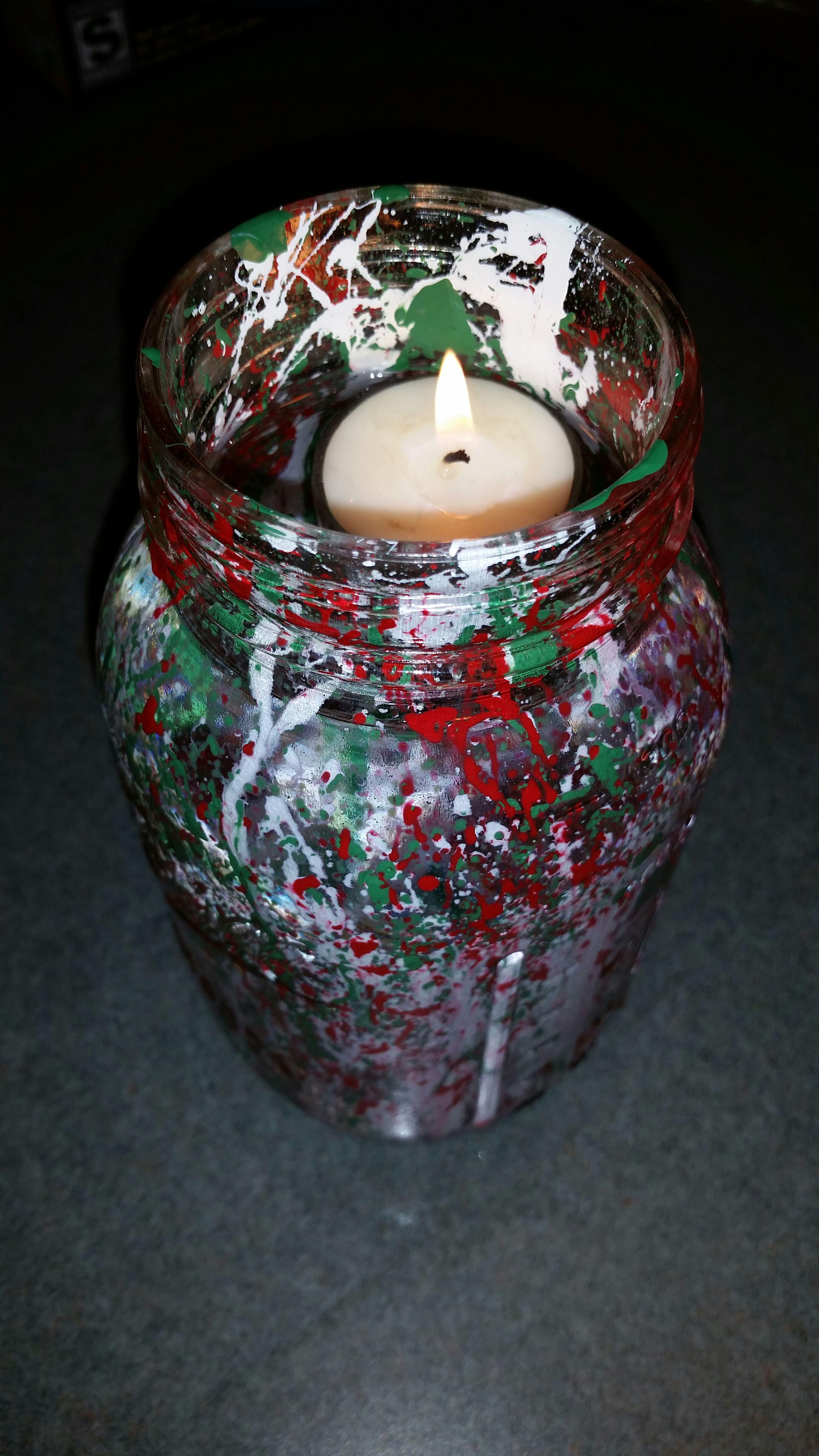 Picture of Mason Jar Christmas Light