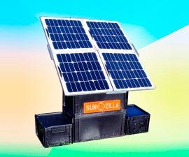 Pop-up Solar Generator: SunZilla 3.0