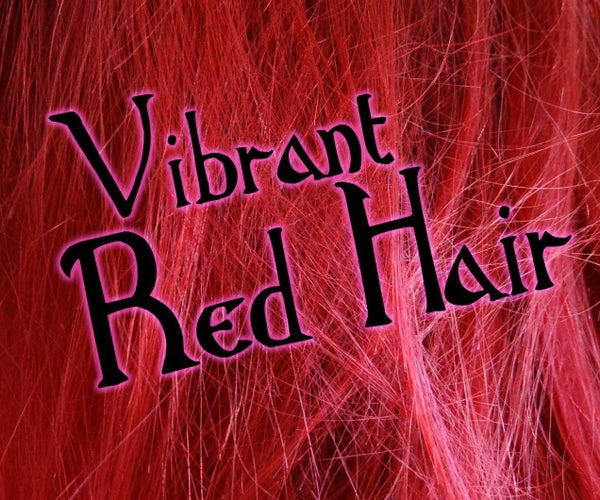 Maintaining Vibrant Red Hair