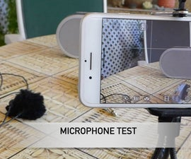 INEXPENSIVE WIRELESS MICROPHONE SYSTEM FÖR VIDEO