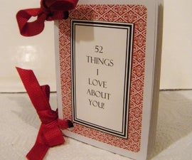 52 Things I Love About You Card~