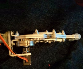 Robotic prosthetic hand  with claw or 3d printed hand
