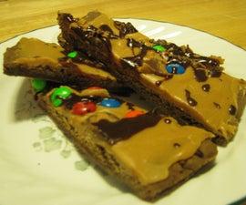 Peanut Butter Chocolate Pizza