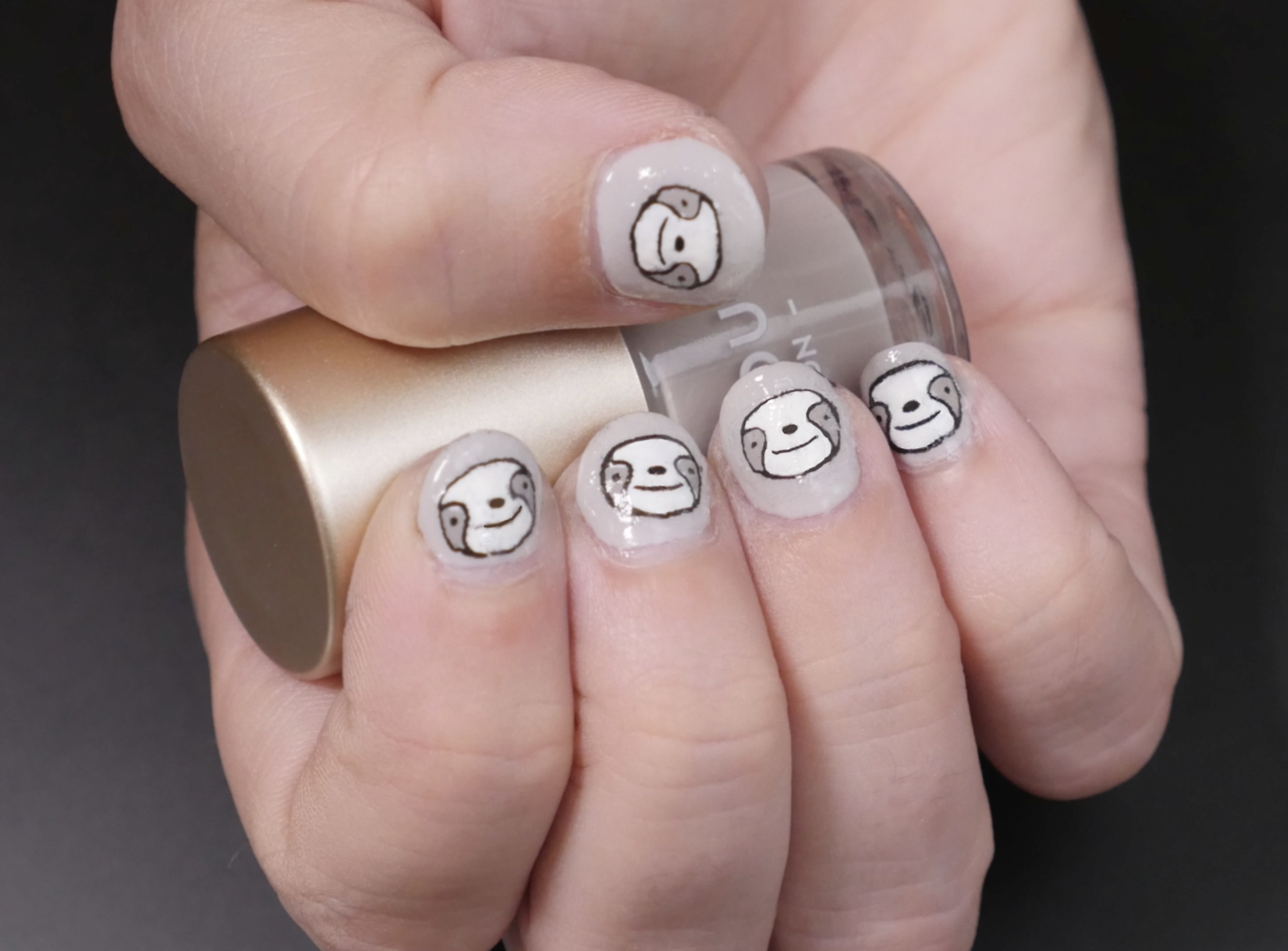Sloth Nails! Make Your Own Custom Nail Art Plates: 6 Steps (with ...