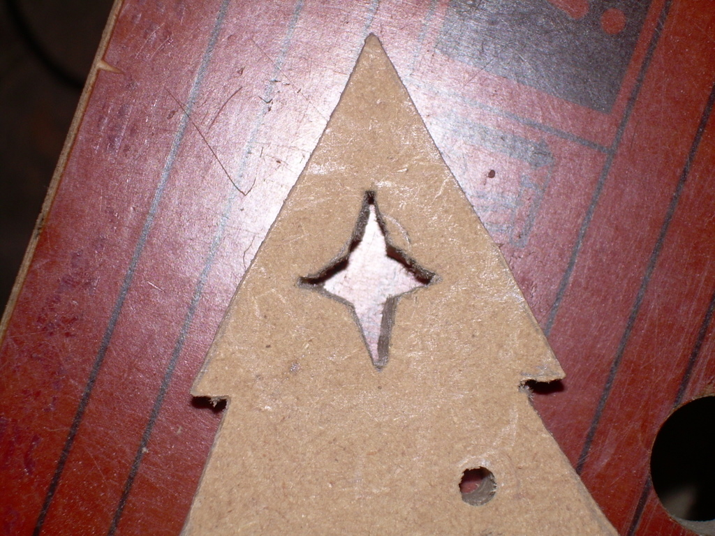 Picture of Drill and Cut Out the Star