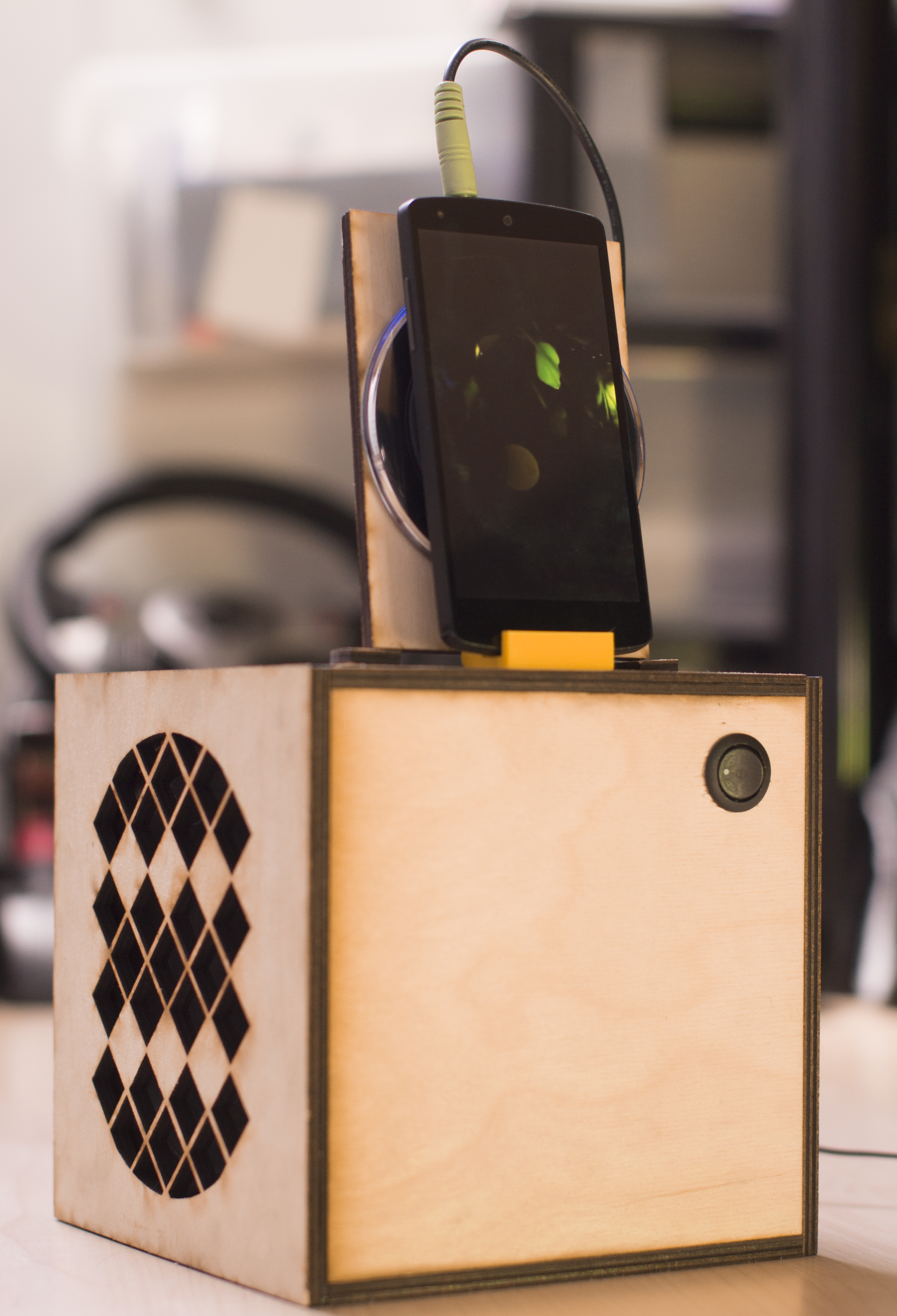 Picture of The Phone Charging Speaker Box