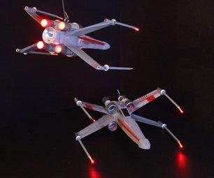 DIY Star Wars X-Wing Ornament