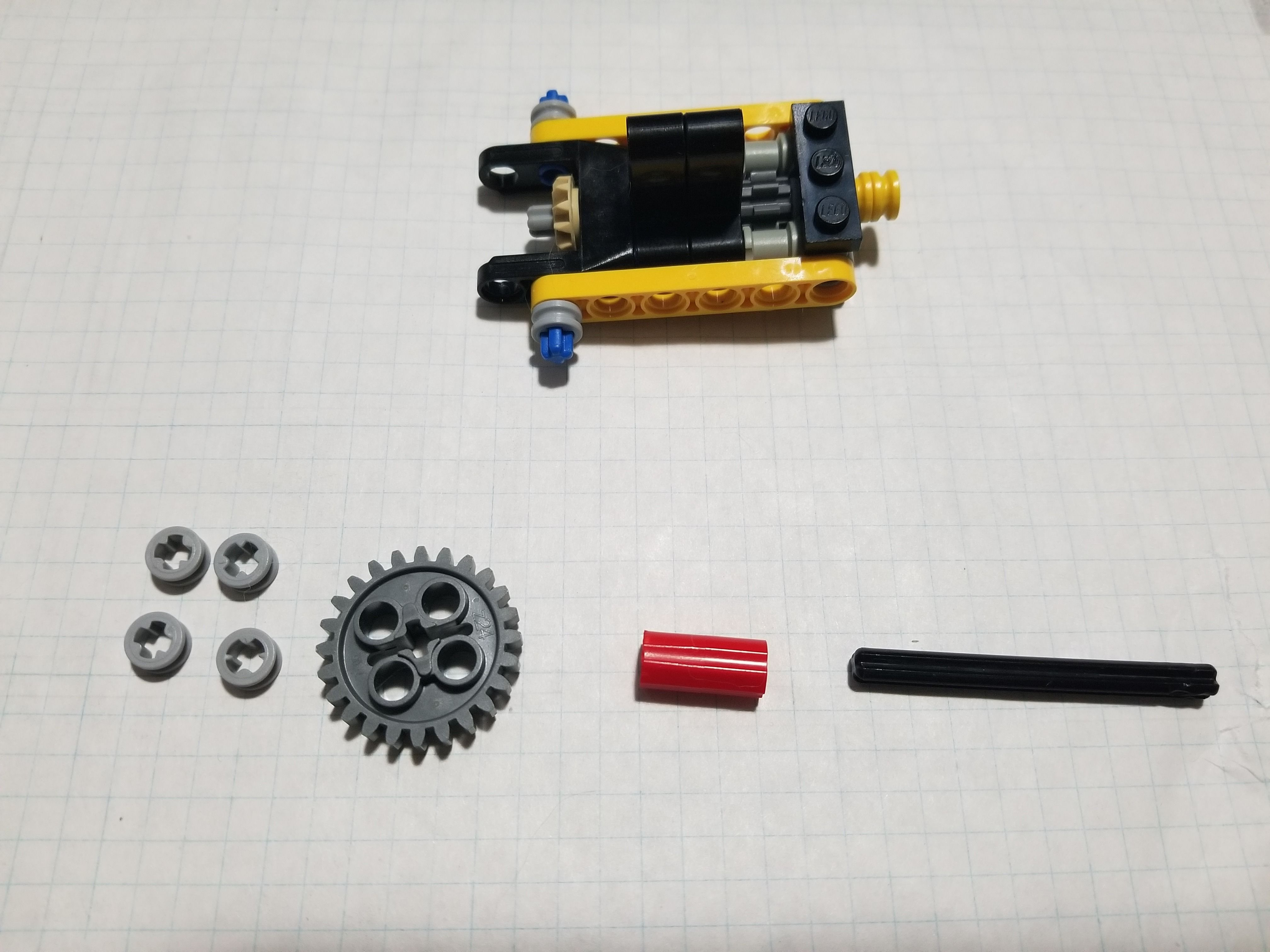 """Picture of Finishing the """"gear Box"""""""