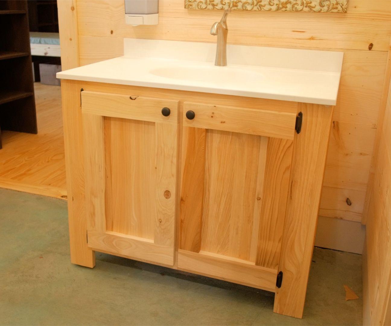 . DIY Rustic Bathroom Vanities   How to Build   Woodworking  14 Steps