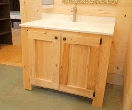 DIY Rustic Bathroom Vanities | How to Build - Woodworking