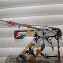 Knex catapult pistol
