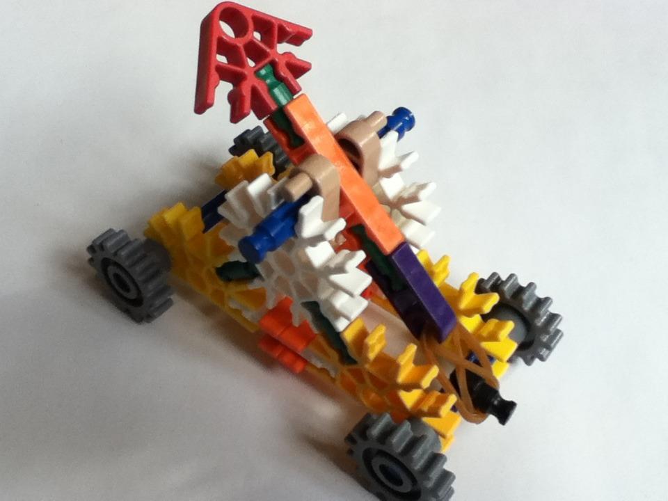 Picture of Super Simple Knex Trebuchet