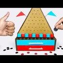 How to Make PLINKO Money Making Board Game From Cardboard DIY