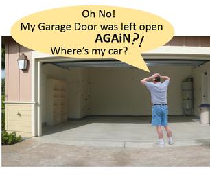 Automatic Garage Door Open/Closed Checker