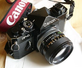 Replace the light seals of your good old film camera