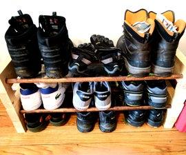 Stackable Wooden Shoe Rack