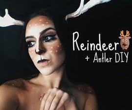 Reindeer + DIY Antlers