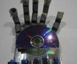 cheap DIY robot hand shadow kit - robot that shadows the movement of your hand