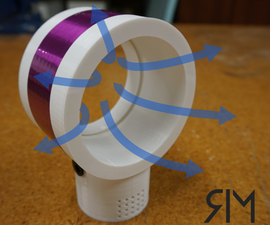 3D Printed Portable Bladeless Fan