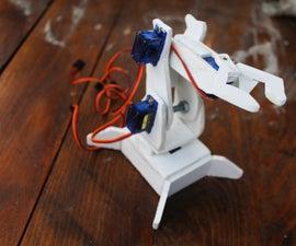 Robotic Arm on Arduino