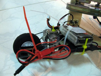 Gyro Stabilized Two Wheeler (V5) - Steerable