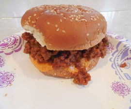 Not-from-a-can Sloppy Joes