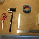 Preparing Print Bed for 3D Printer
