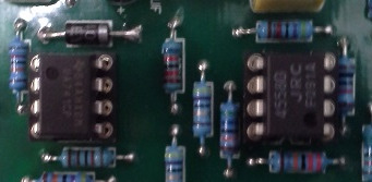 Picture of Put IC in the Sockets