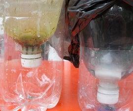 pet bottle dropper for gardening.