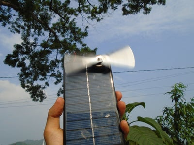 How to Make a Powerful Fan With Solar Panel