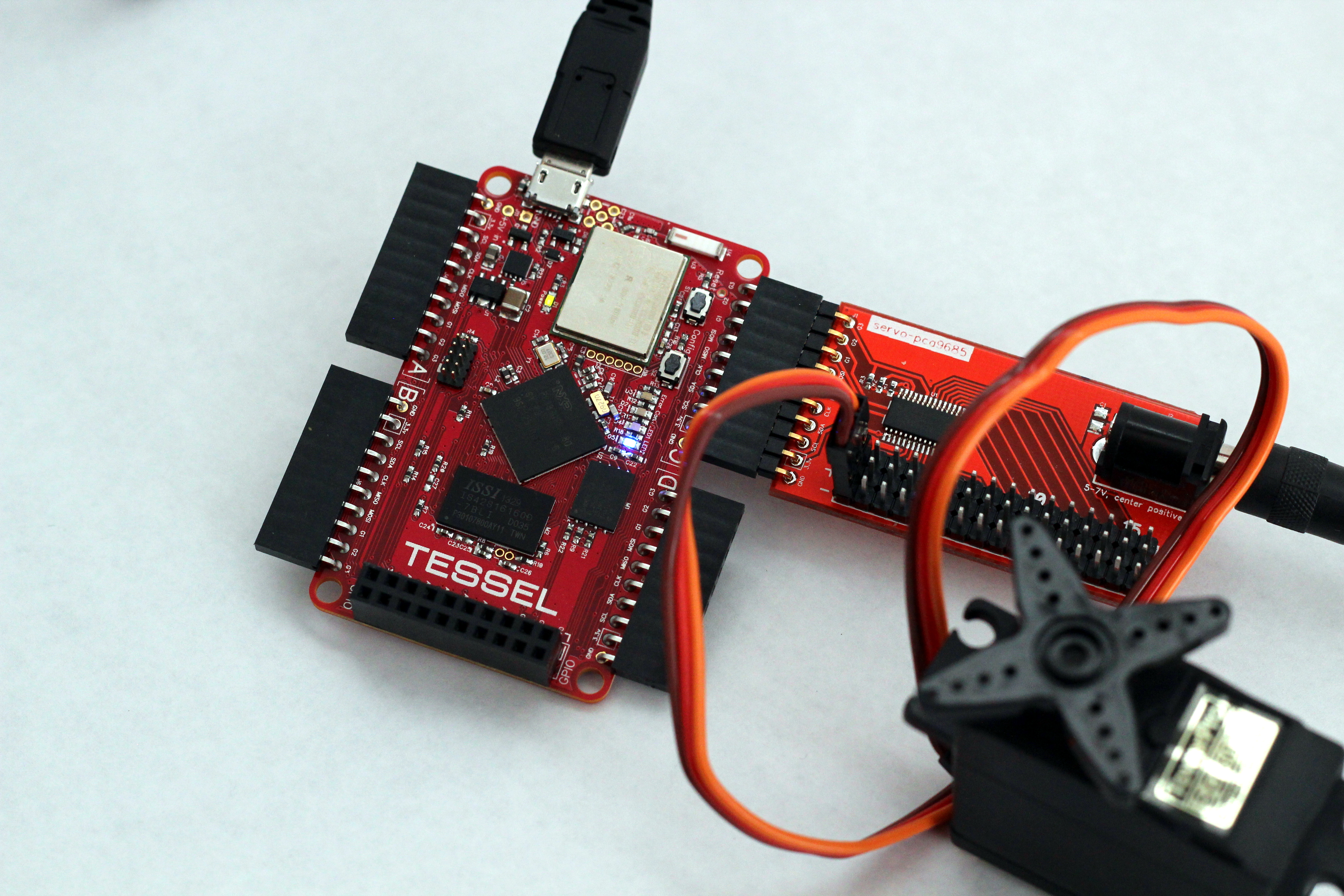 Picture of How to Use a Servo With Tessel