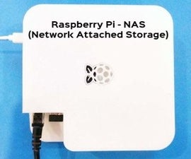 NAS (Network Attached Storage) Using Raspberry Pi