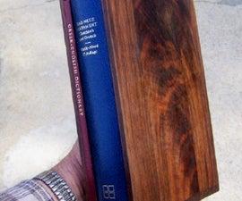 Black Walnut Slipcase for a Prized Book