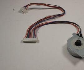 Arduino 6 wire Stepper Motor Tutorial