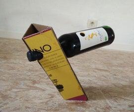 Cardboard Wine Balancer