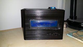 Remote Controlled Raspberry Pi Alarm Clock