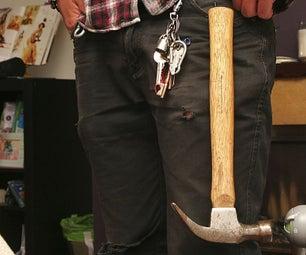 Handy Hammer Hanger Belt Clip
