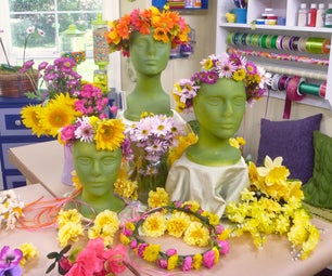 Floral Head Wreaths -- a Midsummer Tradition
