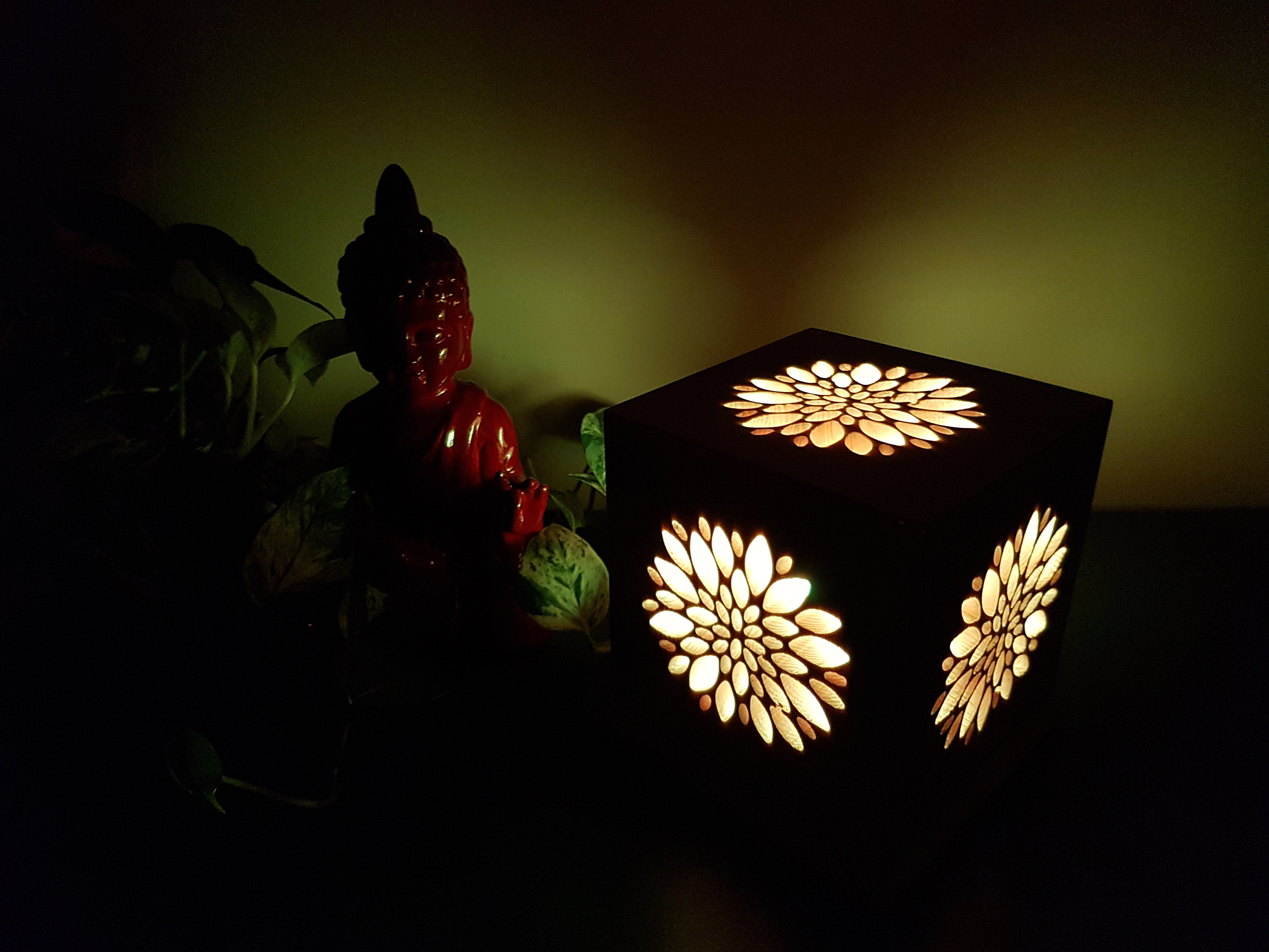 Picture of Lotus Meditation Cube