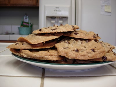 Super Awesome Chocolate Chip Cookies!