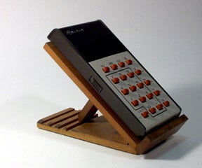 Reusing an Old Calculator Stand